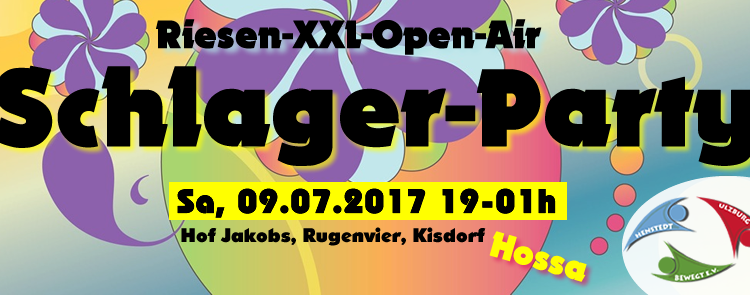 3. Riesen-XXL-Open-Air Schlager-Party