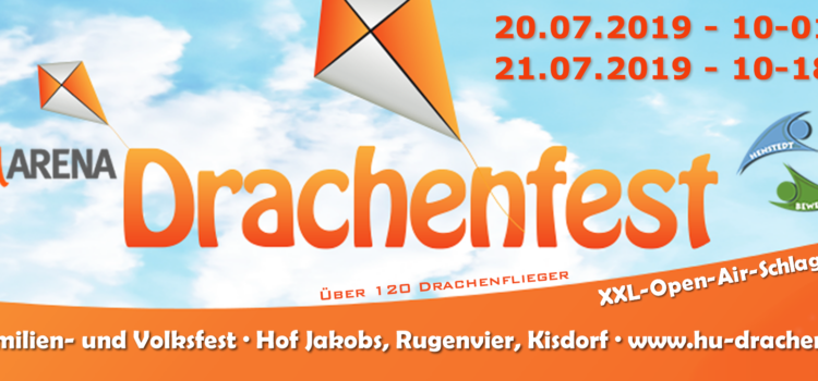 6. funARENA-Drachenfest mit Open-Air-Schlagerparty, Mittelaltermarkt und Car-Treff